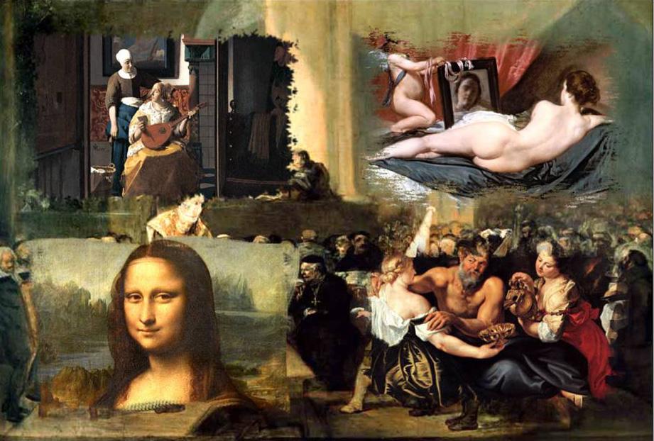 El arte pictórico y su relación con la historia de la Humanidad (1/6)