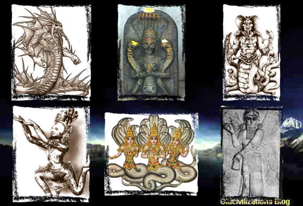Los Anunnaki y su relación con las leyendas sobre Dragones (1/6)