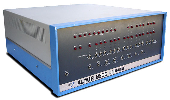 MITS Altair image, courtesy of OldComputers.net