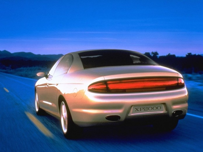 buick xp2000 (1995) – old concept cars
