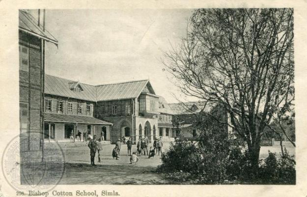 The 1st Flat, Bishop Cotton School Simla. c1913. Picture provided by John Whitmarsh Knight.