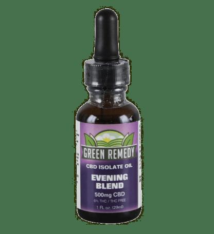 Green Remedy Hemp Extract 500 mg - Evening Blend