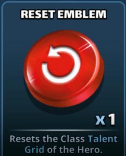 Screenshot reset emblem