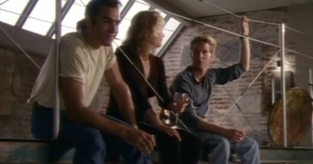 Image of Duncan McLeod, Tessa, and Richie Ryan from Highlander