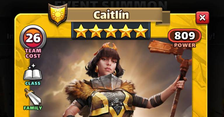 How Good is Caitlin? Empires and Puzzles Slayers Review