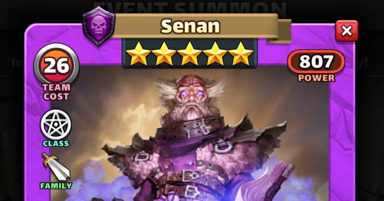 How Good is Senan? Empires and Puzzles Slayers Review