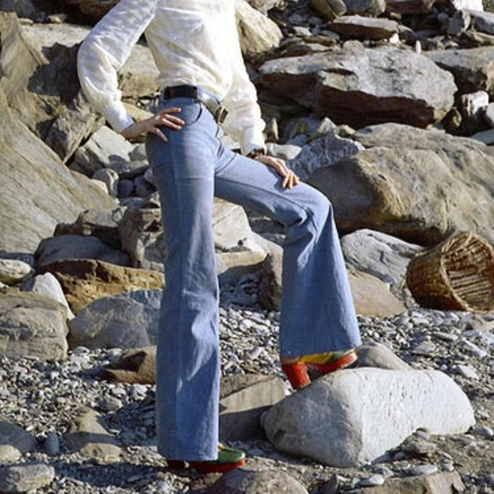 Picture of flares, bell bottoms