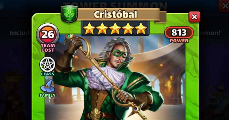 How Good is Cristobal? Empires and Puzzles Interview