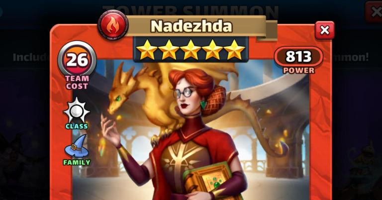 How Good is Nadezhda? Empires and Puzzles Magic Review