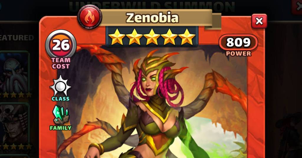 Zenobia Empires and Puzzles FEAT