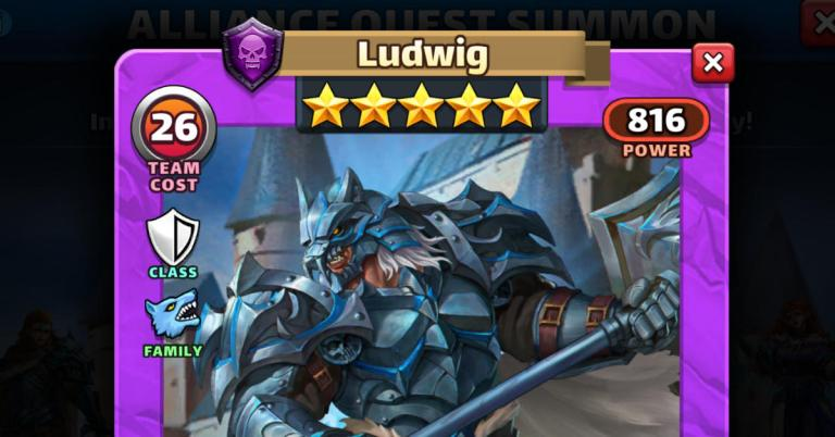 How Good is Ludwig? Empires and Puzzles Knights Review