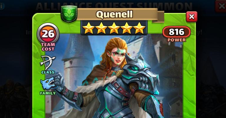 How Good is Quenell? Empires and Puzzles Review