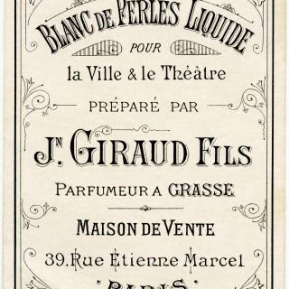 Jn Giraud Fils Blanc de Perles Liquide