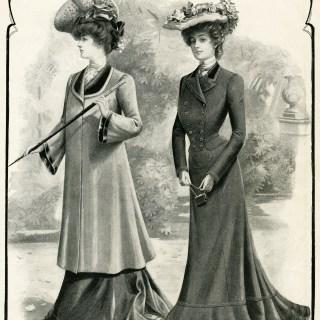 Victorian Ladies Coats Fashion Plate