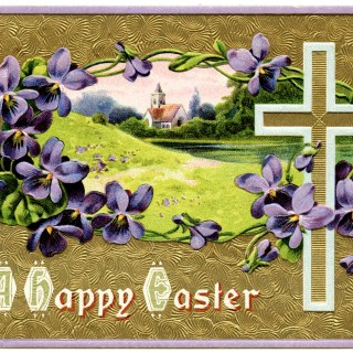 Vintage Christian Easter Postcards
