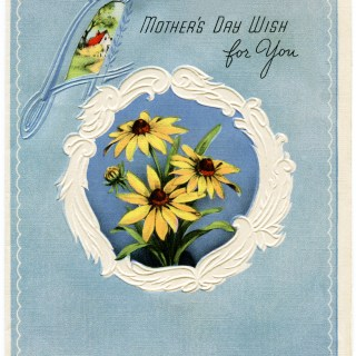 Vintage Mother's Day Card