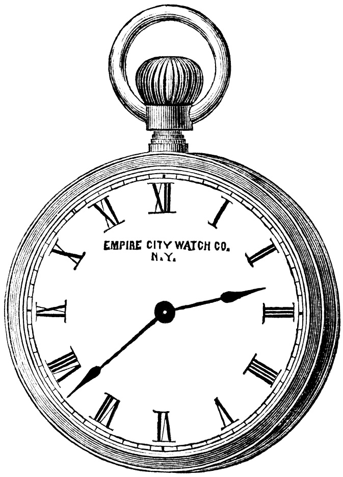 pocket watch clipart - photo #2