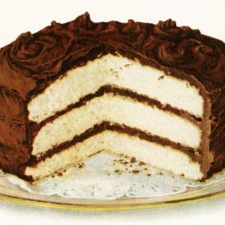 Chocolate Iced Layer Cake