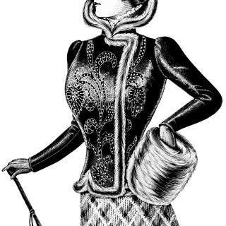 Free Vintage Image ~ Victorian Lady