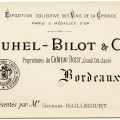 vintage french ephemera, french business card, juhel bilot, free vintage graphic, antique french advertising
