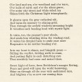 old christmas poem, at christmas tide lucia eames, ornamental swirl, free vintage christmas graphic, old fashioned christmas poetry