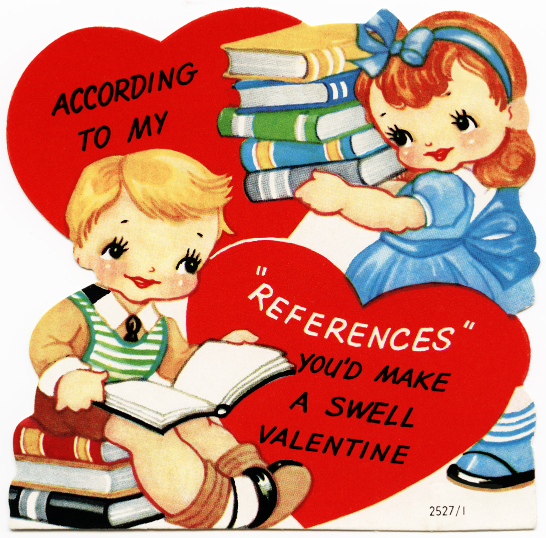 Free Vintage Image A Swell Valentine Card