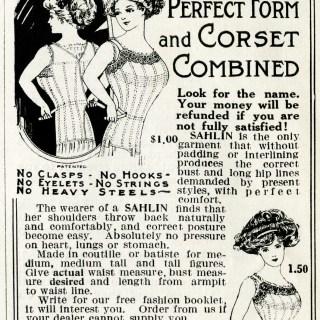 Free Vintage Image ~ Corset Magazine Ad