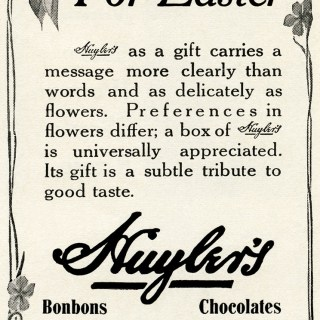 Free Vintage Image ~ Chocolates for Easter Magazine Ad