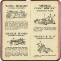 russell grader equipment, antique farm machinery, farm clipart, old fashioned plow, vintage digital paper