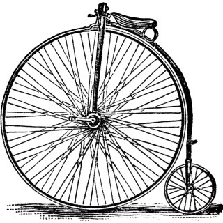 Victor Bicycles ~ Free Vintage Clip Art