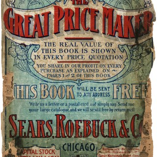 1907 Sears Roebuck & Co. Catalogue Cover Page