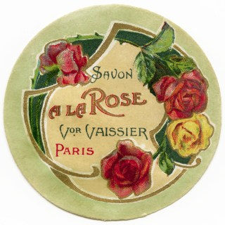 Savon a la Rose French Label