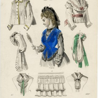 Le Moniteur de la Mode Fashion Plate