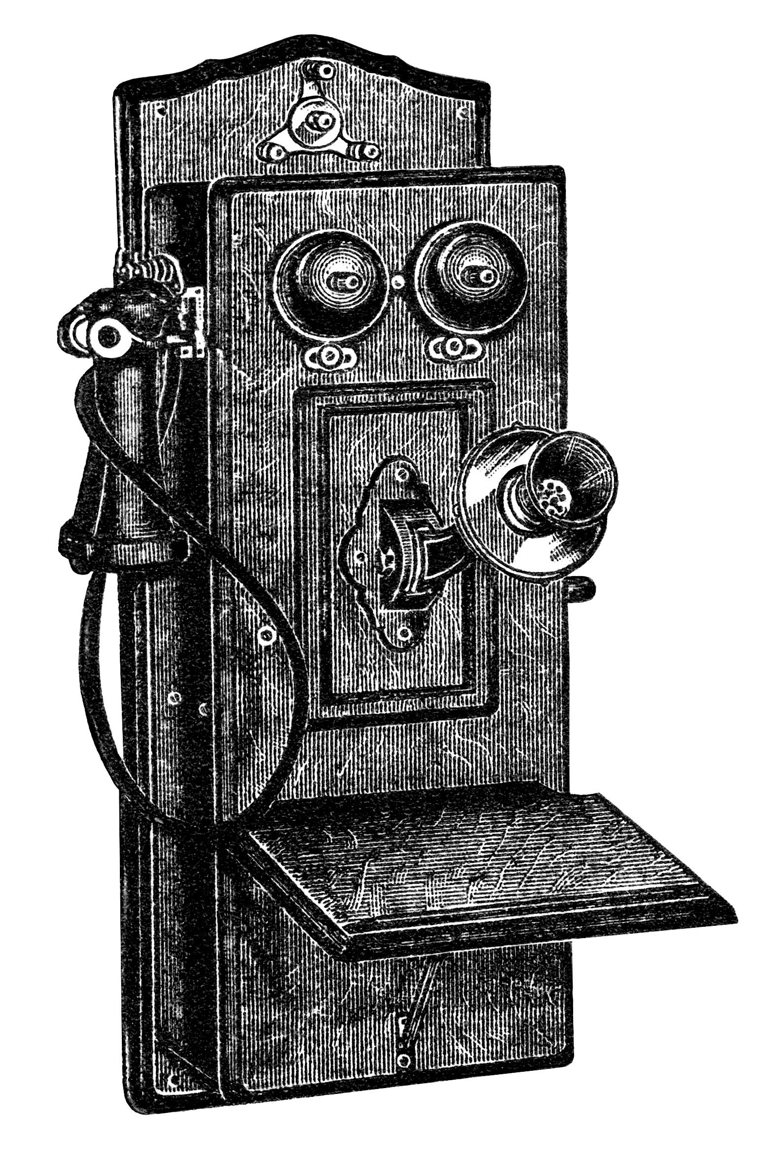 clip art antique phone - photo #4