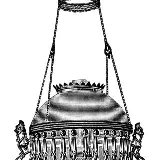 Hanging Lamps ~ Vintage Clip Art