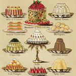 Now Available in my Etsy Shop ~ Mrs. Beeton's Jellies, Creams and Sweet Dishes