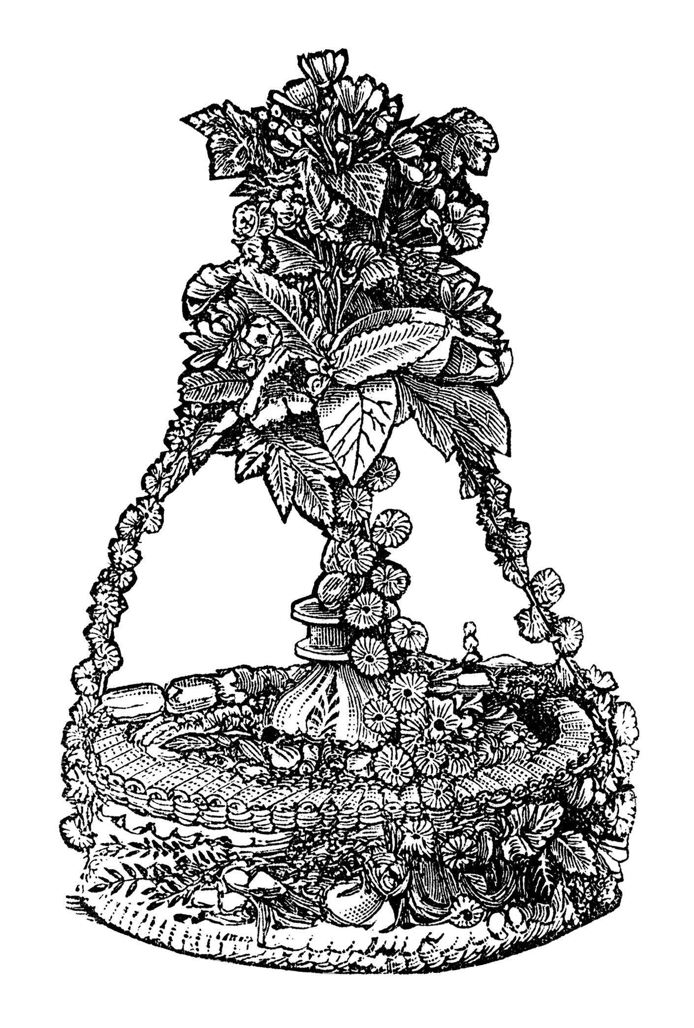 Vintage Bride Cake ~ Free Clip Art Old Design Shop Blog