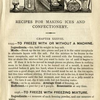 Vintage Ice Cream Recipes ~ Free Digital Graphics