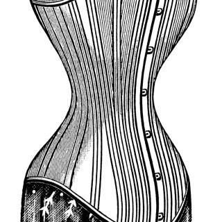 Victorian Corsets ~ Free Vintage Clip Art