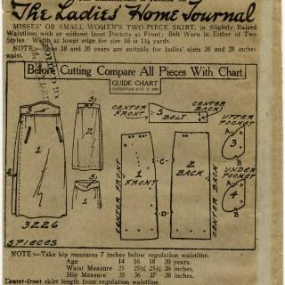 Vintage Skirt Pattern Envelope ~ Free Graphics
