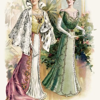 Victorian Fashion Plate ~ Free Graphic