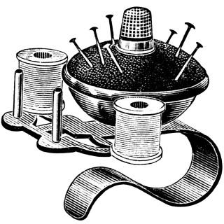Pincushion Thimble Spoolholder