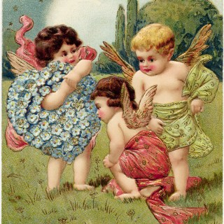Valentine's Day Cherubs