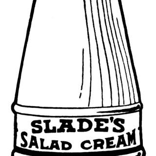 Vintage Salad Dressing Clip Art