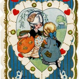 To My Love ~ Free Victorian Valentine