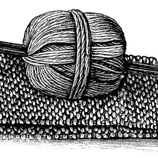 Yarn and Knitting Clip Art