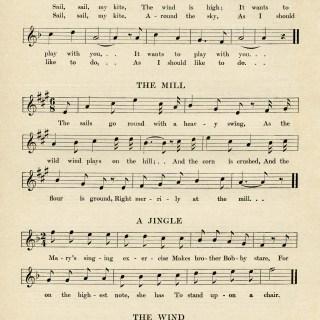 Kindergarten Songs for March