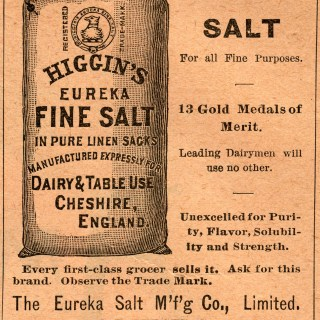 Higgin's Eureka Salt Ad
