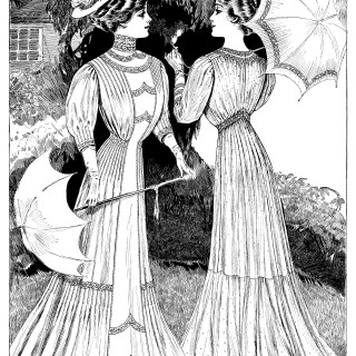 Ladies with Parasols
