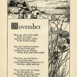 November Poem by K. Pyle